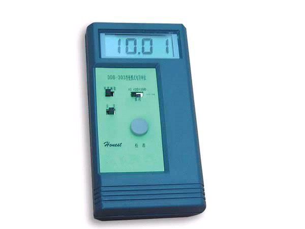 Portable Conductivity meter 0~199900uS/cm Error:1%F.S  Free shipping wholesale and retail 199 9us 1 999ms 19 99ms 2%fs 1d portable conductivity meter cd 4301