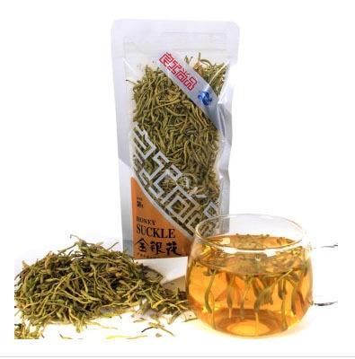 Free shipping honeysuckle tea 30g flower tea green tea chinese tea free shipping jasmine 30g tank flower tea green tea chinese tea