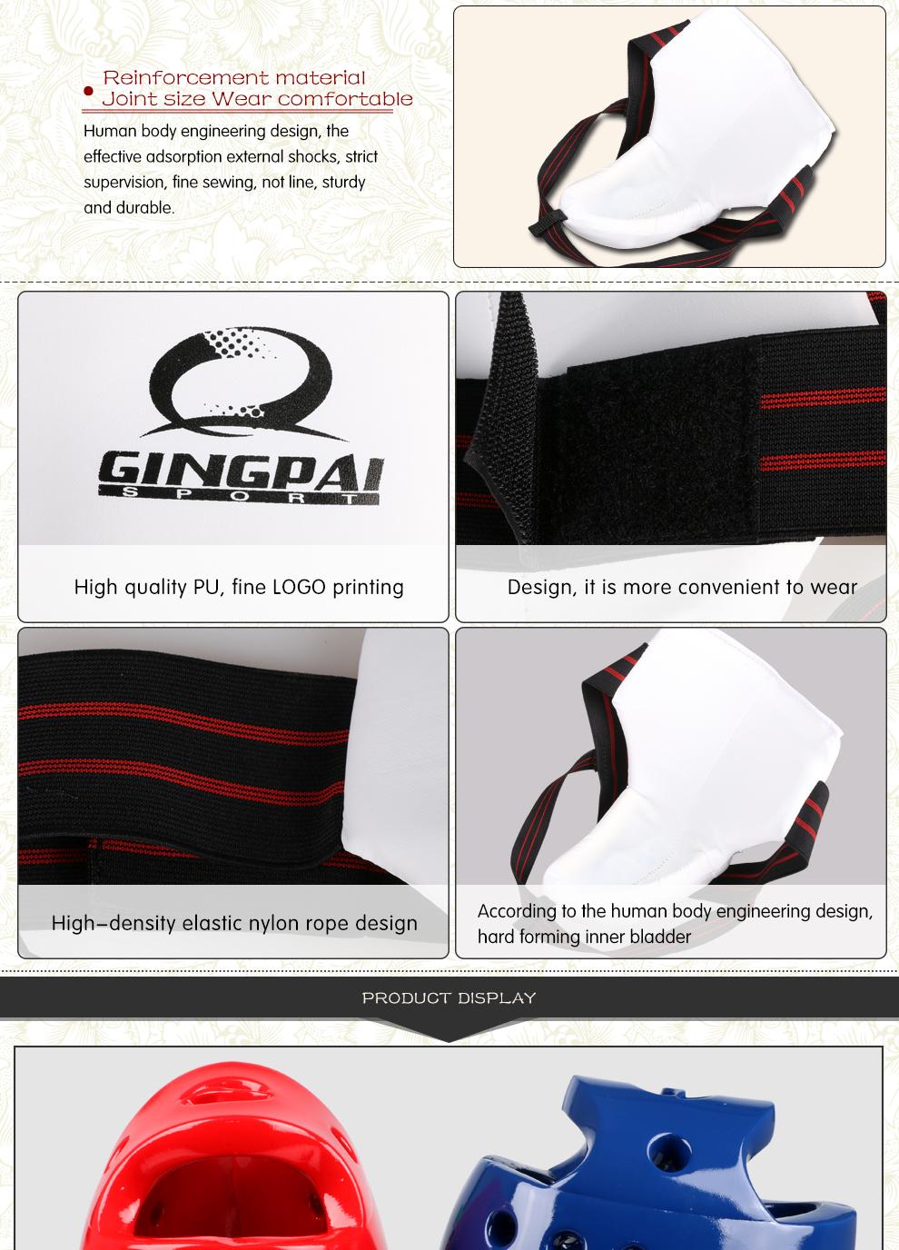 a0acdf703ec full set protective goods MMA Taekwondo Karate sport shin protector ...