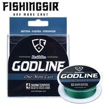 FISHINGSIR GODLINE 4 Strand 137M Fishing Line 8-120LB Braided Line Smooth Multifilament PE Fishing Line for Saltwater Fishing