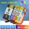 4pcs Ink Cartridge For HP 903XL HP903XL T6M03A T6M07A T6M11A T6M15A For HP Officejet Pro 6960