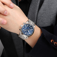 Forsining 2018 Mens Casual Sport Watch Stainless Steel Top Brand Luxury Army Military Automatic Men S