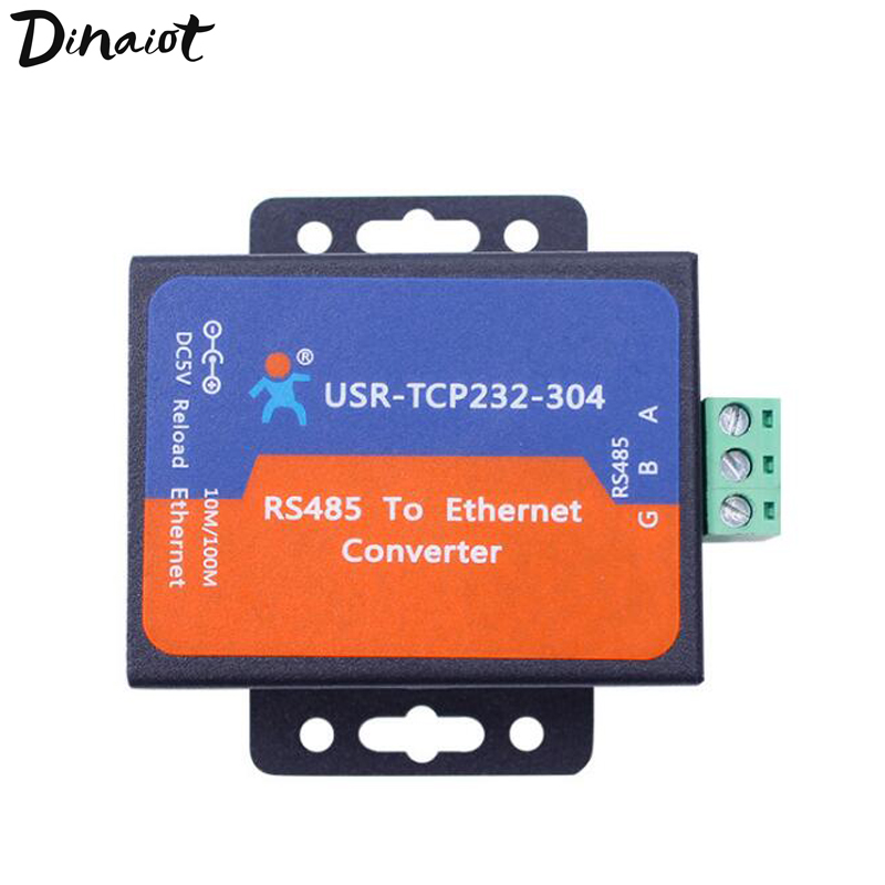 Serial RS485 To Ethernet Converter TCP Server Can Realize Transparent Transmission Integrated TCP/IP For Real-time Data Logger