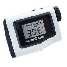 Golf telémetro 600 m portátil pantalla LCD rango de medición del telémetro láser monocular alcance de la caza a prueba de agua 3 colores 005