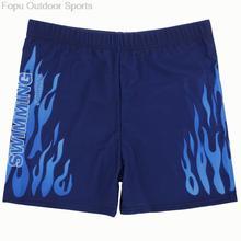 Plus Size Sexy Flame Men Male Swim Pool Beach Swimming Swimwear Boxer Trunks Shorts Pants Bathing Suit Briefs Swimsuit Underwear