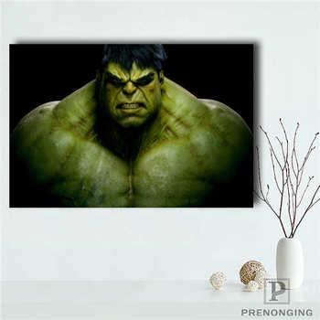 Póster de lienzo personalizado el increíble Hulk, pósteres impresos, tela, imágenes artísticas de pared para decoración para sala de estar #18-12-05-H-01-9