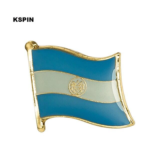 El Salvador Bendera Pin Kerah Pin Lencana 10 Pcs Banyak Bros Ikon KS-0150