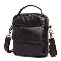 Top Quality Men S Genuine Leather Messenger Bag Fashion Casual Crossbody Bag Business Travel Bags Handbags