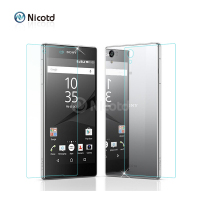 2Pc/Lot 0.26MM Front+Back Tempered Glass For Sony Xperia M4 aqua M5 Screen Protector Film For Sony Z3 Compact Z5 Z2 Z1 Z Compact