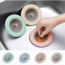 Sink Strainer Silicone Sieve Kitchen Sink Filter Mesh Fillers For Hair Gootsteen Zeef Things For Kitchen Accessories