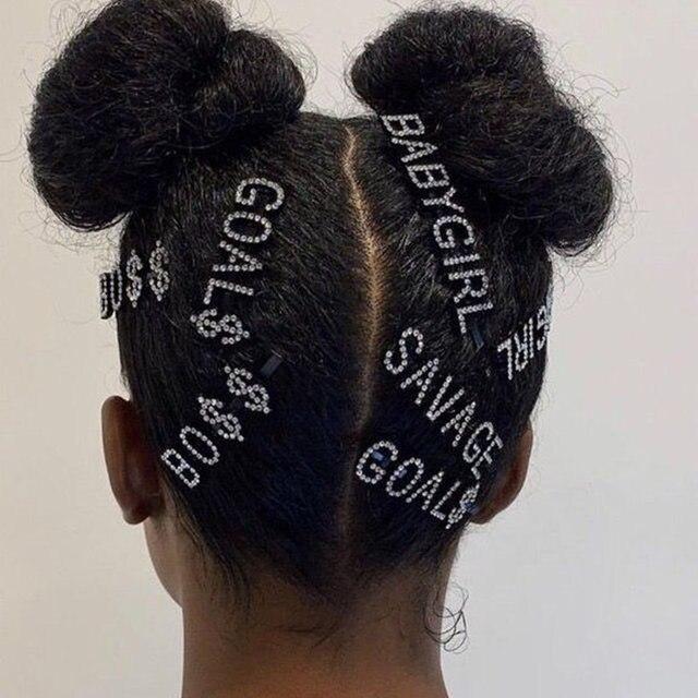 Rhinestone Hair Pin  2