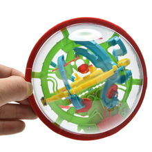 3D Learning Balance Logic Ability Puzzle Game Educational Training Tools Magic Intellect Maze Ball Kids Children Puzzles