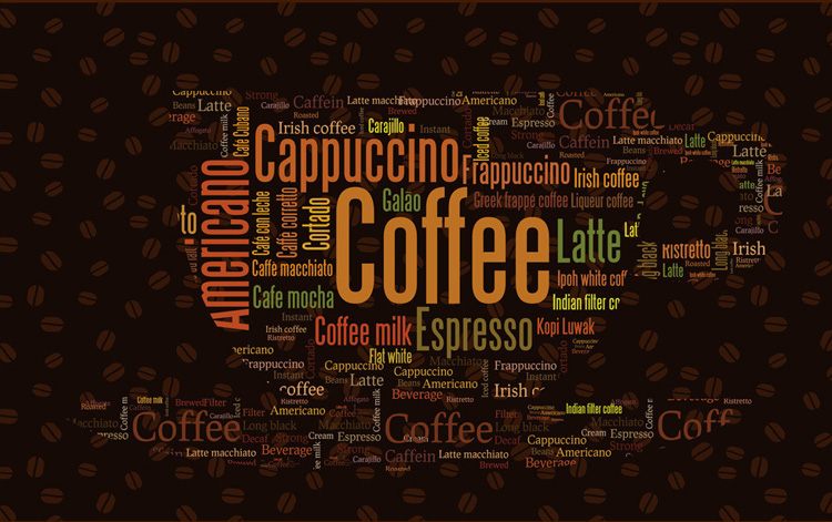 Wallpaper custom picture more detailed picture about for Coffee shop mural
