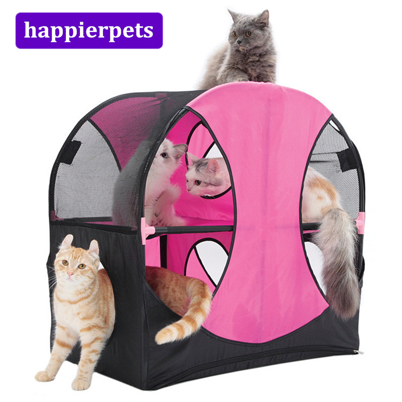 Pet Toys in Cat Toy Large Cat Scratch Board Tent Happy Ferris Wheel Pet Playground Toy