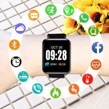 Children Watches Square Smart Watch Kids For Girls Boys Student Electronic Wristwatch LED Digital Child Wrist Clock Hours Gifts(China)