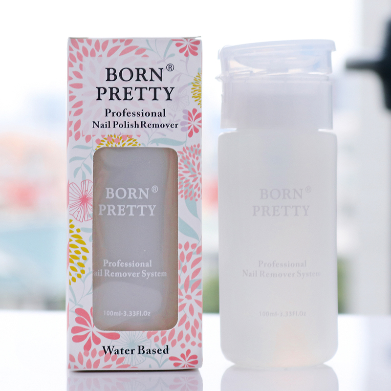 BORN PRETTY 100ml Nail Polish Glue Remover Water Based Nail Lacquer Cleaner Manicure Healthy Cleanser Nail Art Tool