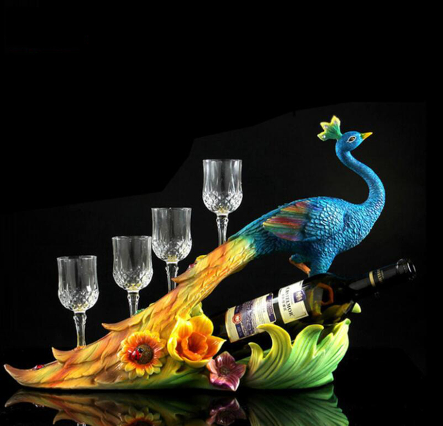Peacock statue wedding gift room decoration home furnishing peacock statue wedding gift room decoration home furnishing housewarming wedding gifts sculpture home decoration accessories junglespirit Choice Image