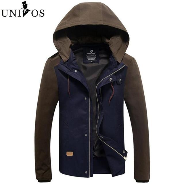 New Fashion Man's Waterproof Windproof Mountain Warm Coat Casual Jacket Men Large Size Sportswear Asian Size Z2651