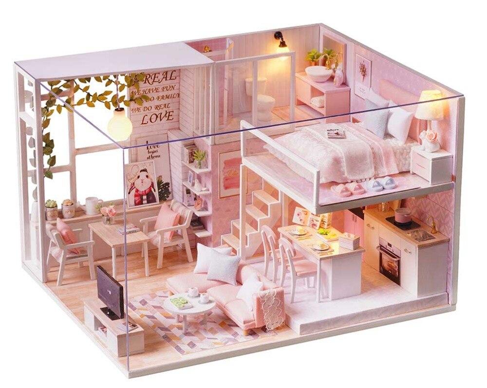 Mobili Per Casa Delle Bambole Fai Da Te : Kit fai da te casa delle bambole giocattolo in miniatura bilancia