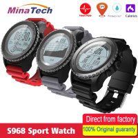 Professional GPS Outdoor Sport Smart Watch S968 Sport Wristwatch IP68 Waterproof Swimming Snoeling Heart Rate Fitness