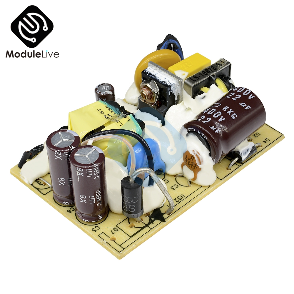 AC-DC 12V 2A Switching Power Supply Module DC Voltage Regulator Switch Circuit Bare Board Monitor LED Lights 110V 220V SMPS