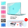 Lace Paisley Floral Laptop Accessories Hard Cases Cover For Macbook Pro 13 Case Pro 13 15 Retina Laptop Skin Protector Shell