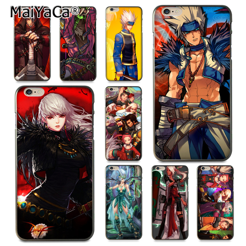 MaiYaCa Game Dungeon Fighter Online Fashion Fun Dynamic phone case for Apple iPhone 8 7 6 6S Plus X 5 5S SE 5C Cover