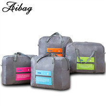 AIBAG WaterProof Travel Bag Large Capacity Bags Fashion Women nylon Folding Bag Unisex Luggage Travel Duffel Bag Handbags