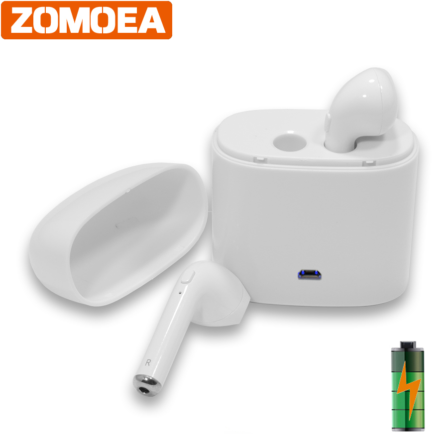 ZOMOEA MINI Wireless Headphone Bluetooth Earphone Fone de ouvido For iPhone Android stereo headset Auriculares Bluetooth 4.2 TWS ttlife mini bluetooth earphone usb car charger dock wireless car headphones bluetooth headset for iphone airpod fone de ouvido