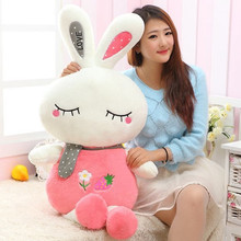 cute love rabbit doll plush toy rabbit doll  soft throw pillow 90cm, birthday gift  x087