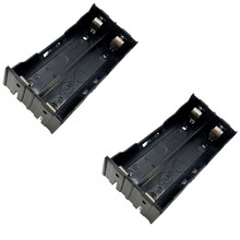 50pcs/lot MasterFire 2 Slots 18650 Battery Case Holder x Batteries Storage Box Cover with Pin