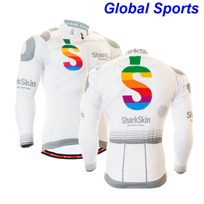 2017 white racing jerseys quality multi functional cycling clothes apparel clothing for riding biking size s-3xl
