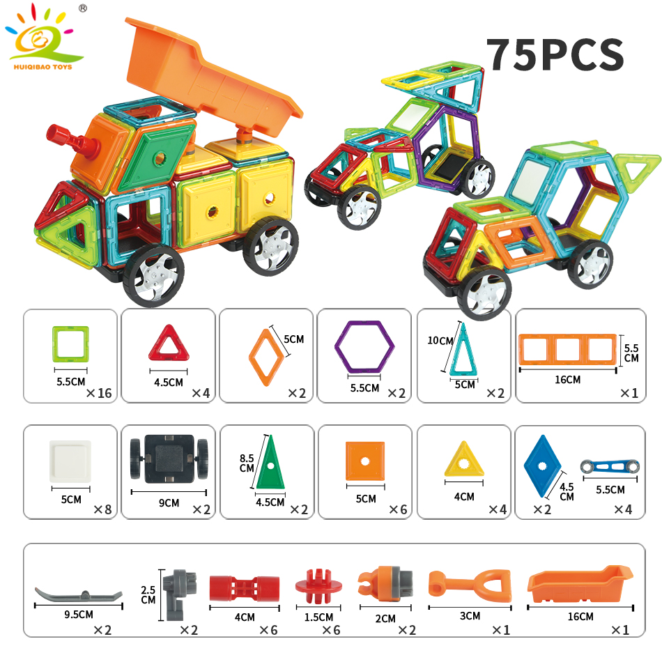 Magnetic constructor for your children