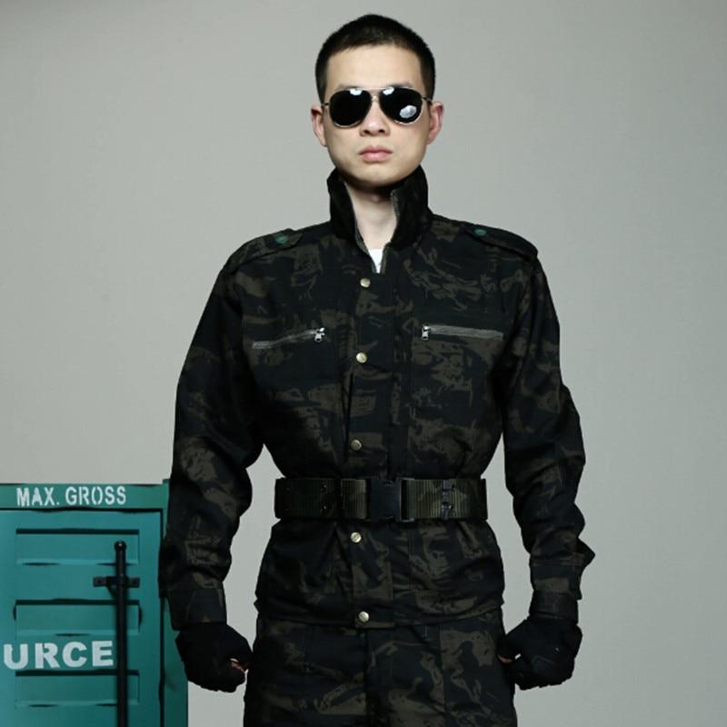 Mannen Camouflagepak Multicam Jachtkleding Tactische Uniformen - Sportkleding en accessoires - Foto 2