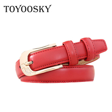 2018 New Arrival Cow Split Strap Female Vintage Girdle Belts High Quality Luxury Dresses Summer for Women TOYOOSKY