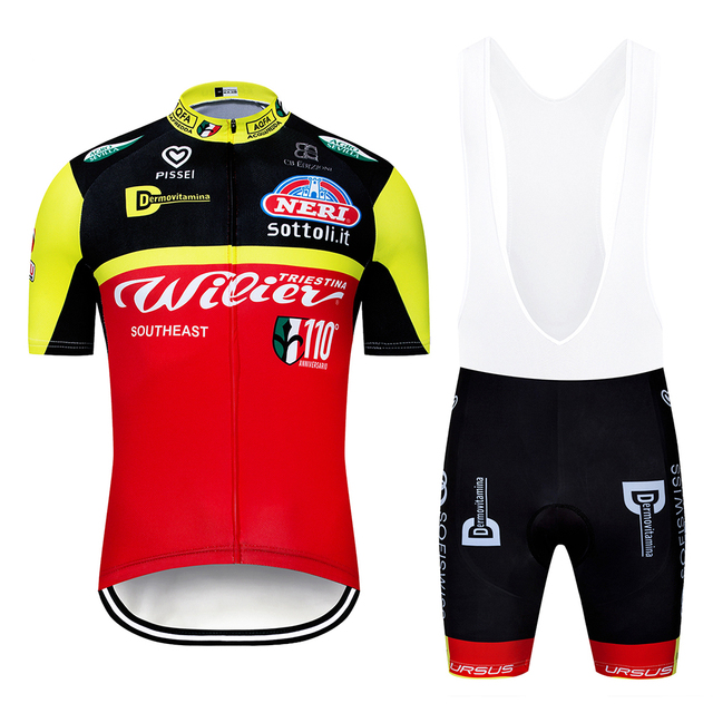 b805b98d6 2019 Italia Team Cycling Jersey Set for Men Short Sleeve 12D GEL Padded MTB  Road Bike Cycle Clothing Kit Maillot Ciclismo
