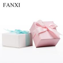 2015 новая мода творческий лук кольцо ожерелье box кольцо box шкатулка кулон окне(China (Mainland))
