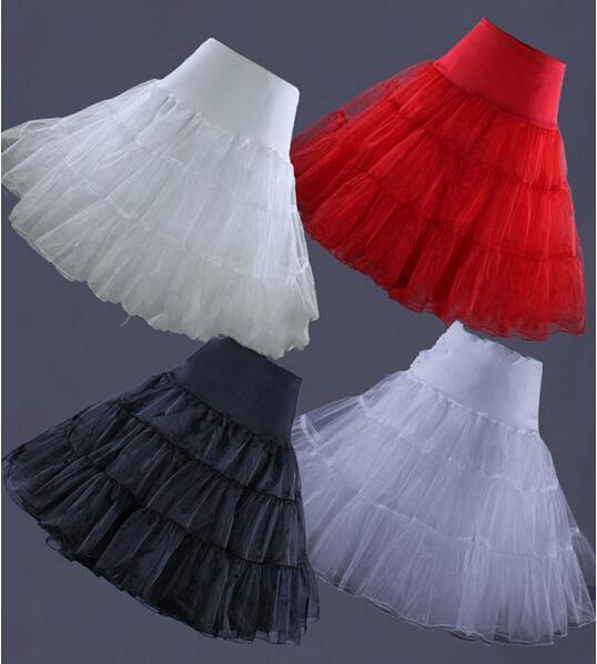7d8f37d6b Falda interior Retro 50 s Swing Vintage enagua red falda Rockabilly, tutú  largo de 26