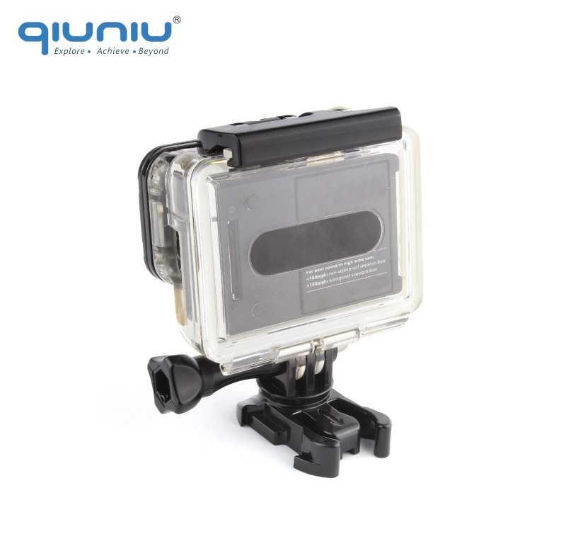 QIUNIU вращающаяся БЫСТРОРАЗЪЕМНАЯ Пряжка 360 градусов вертикальное поворотное крепление для GoPro Hero 6 5 4 3 + 3 2 SJCAM для Xiaomi Yi камера