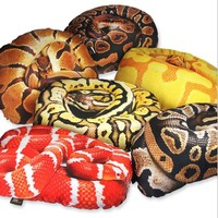 New Arrival 3D Creative Snake Cushion Pillow Fashion Christmas Cushions For Bed Home Decor Seat Sofa