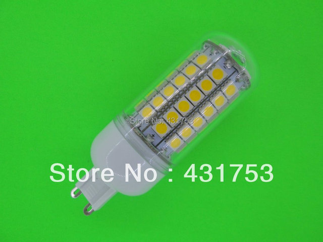 NEW  G9 5050 69 LED Corn Bulb Light (1100 lumens)  LED Lamp 200V-240V 360 degree white / warm white ( high brightness )
