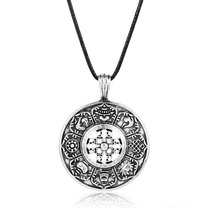 Kette Amulett Keltisch Anhänger Dreiwirbel KBone37