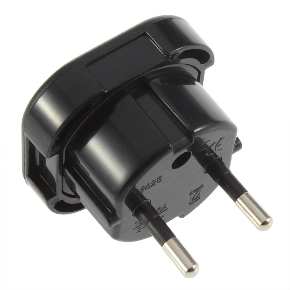 Universal Uk To Eu Power Travel Plug Adapter Socket