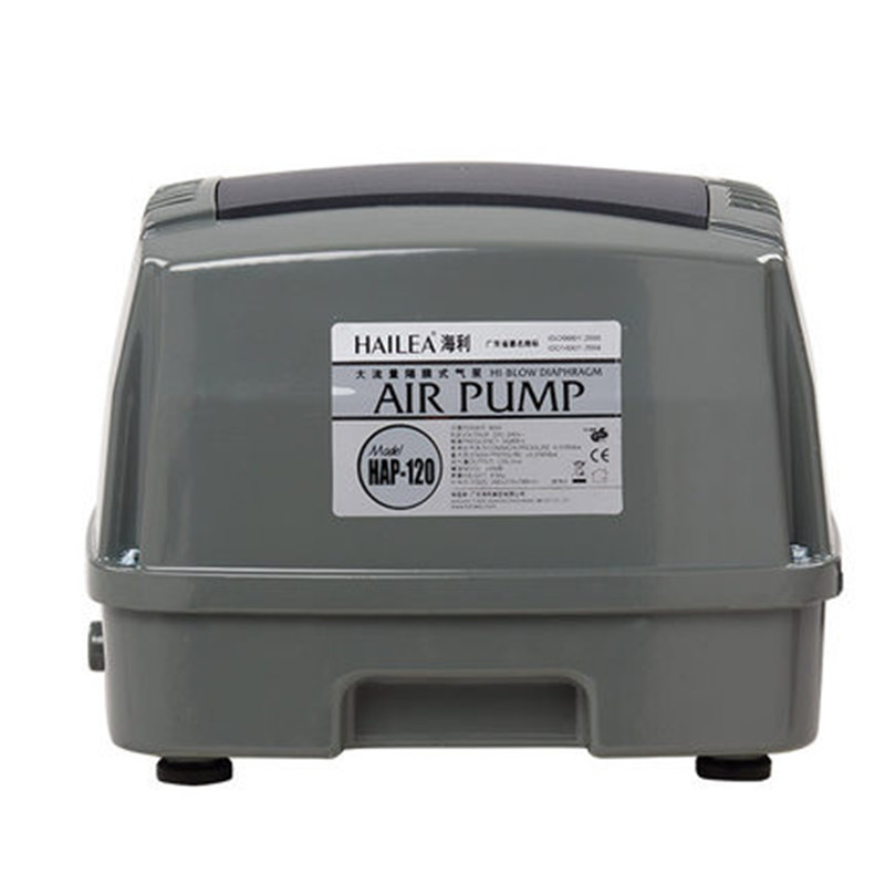 HAILEA HAP-120 90 W 120L/MIN atmosphérique statique puissance pompe à oxygène aération pompe réservoir de poisson pompe à air poissons aquarium pompe à oxygène 220 V