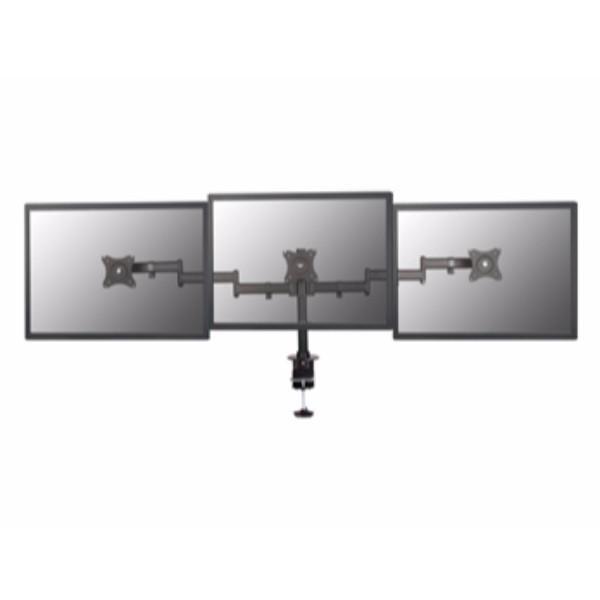 Écran Soporte à la Table 13-27 bras à Double articulation prend en charge 3 moniteurs VESA Standard hasta 8 kg