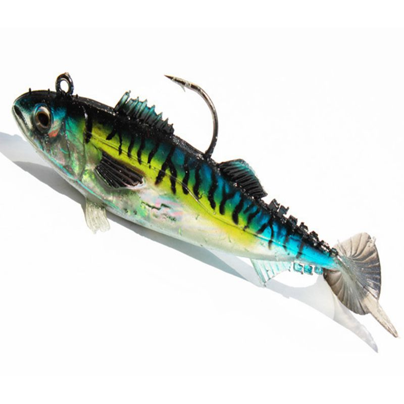 Hot sale soft fishing lure lead mighty bite fish bait for Fish bites bait