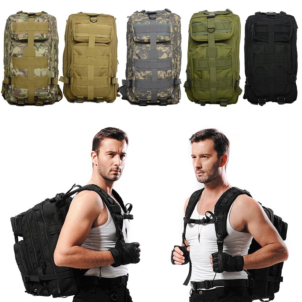 Prix pour 35L Hommes Femmes En Plein Air Militaire Armée Tactique Sac À Dos Trekking Sport Voyage À Dos Randonnée Camping Trekking Camouflage Sac
