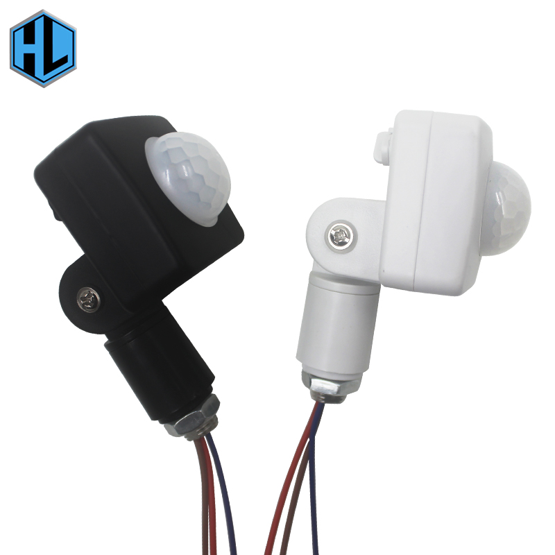 20mm 24mm 40mm Infrared Human Motion Sensor Adjustable Mode Angle IR Detector For LED Outdoor Lighting Fixture