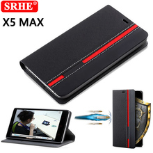 New for Doogee X5 Max Case Ultra thin Leather flip cover for Doogee X5 Max Pro back case Take Card With Phone holder