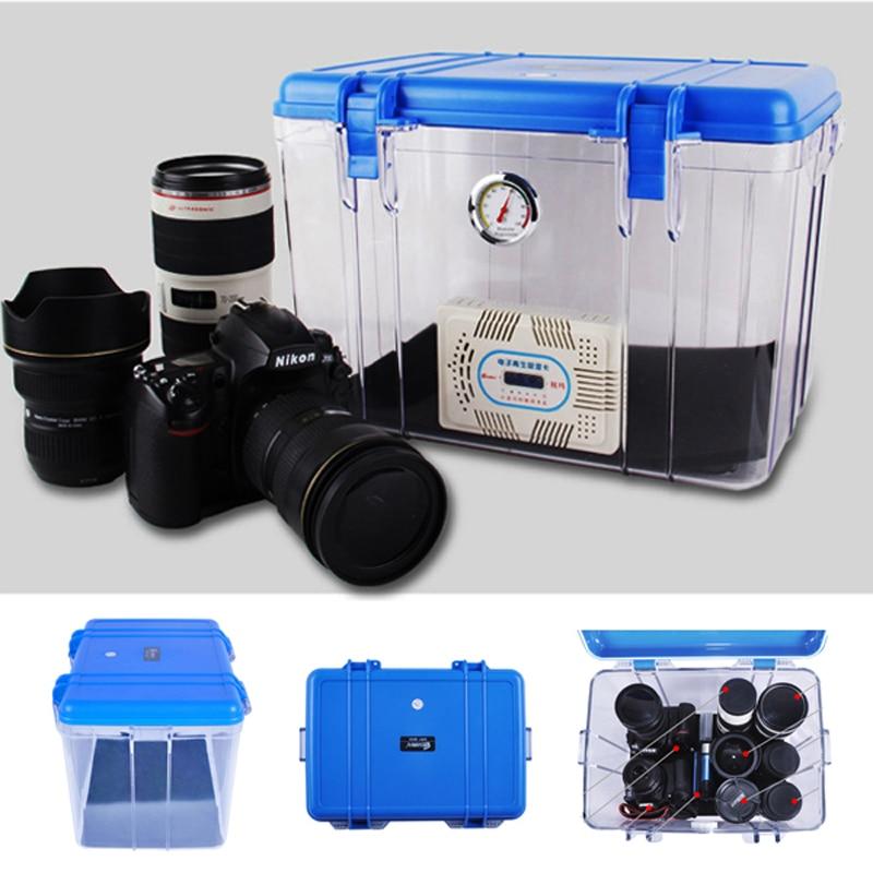 Roadfisher Large Anti-shock Waterproof Shockproof Case Dry Moistureproof Storage Seal Box Cabinet For DSLR SLR Camera And Lens